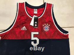 NWT ADIDAS Bayern Munich Basketball Style Tank Top Jersey Men's XL