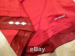 NWT Adidas 2015/16 Bayern Munich Red Home Climacool Jersey (Men Size MEDIUM)