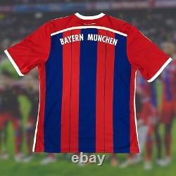 NWT Bayern Munich 2014/15 Home Soccer Jersey XL Adidas Bundesliga Camiseta