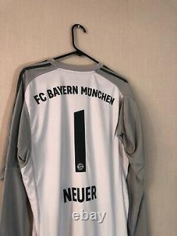 Neuer #1 Bayern Munich 2018/19 Large Home Goalkeeper Shirt Jersey Adidas BNWT