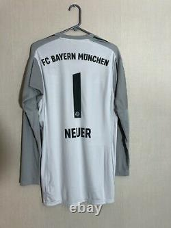 Neuer #1 Bayern Munich 2018/19 Medium Home Goalkeeper Shirt Jersey Adidas BNWT