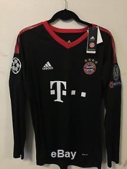 quality design 96ec7 f48bc Neuer 2017/18 Bayern Munich Goalkeeper Soccer Jersey Size L ...