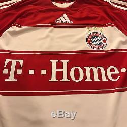 New 2007/08 Bayern Munich Home Jersey #21 Lahm Adidas Small Vintage BNWT