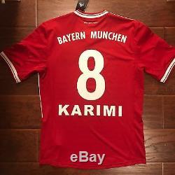 New Bayern Munich Home Jersey #8 Ali Karimi Iran Size Medium Very Rare