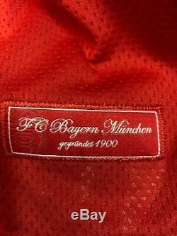 New Fc Bayern Munich Home 2008/2009 Adidas Shirt Jersey Trikot Muller 25. Xl