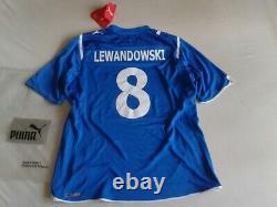 New Robert Lewandowski shirt Lech Poznan retro jersey Bayern Munich 20/21