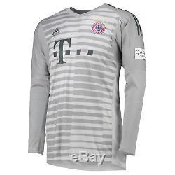 Official Bayern Munich Home Goalkeeper Jersey Shirt 2018 19