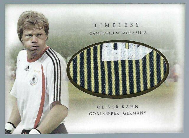 Oliver Kahn 2020 Futera Timeless Game Used Jersey /18 Germany Bayern Munich