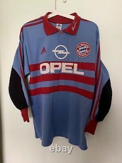Oliver Kahn Bayern Munich 1998-1999 Home Goal Keeper Jersey Trikot