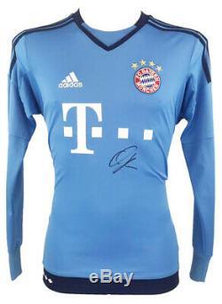 Oliver Khan Autograph Signed FC Bayern Munich Gk Jersey +COA