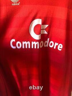 Original Vintage Bayern Munich 1984-1986 Home Football Shirt Soccer Jersey