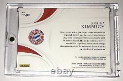 Panini Immaculate Joshua Kimmich Bayern Munich Jersey Autograph 12/70 Ebay 1/1