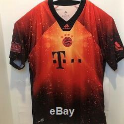 RARE Adidas FC Bayern Munich EA Sports Soccer Jersey Mens SizeXL EJ8699 NWT