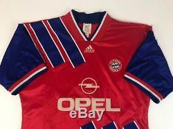 Rare Adidas Mens Fc Bayern Munich Equipment Opel Soccer