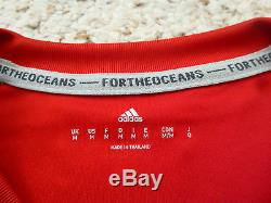 RARE NWT Adidas 2016 Bayern Munich Special Parley Red Home Jersey Medium/LARGE