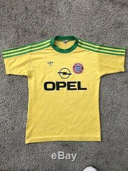 RARE Vintage 90s Adidas Bayern Munich Munchen Football Soccer Jersey Small
