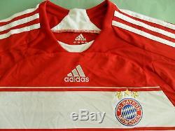 RAREAdidas BAYERN MUNICH Germany Soccer football Top Jersey shirtMens XL