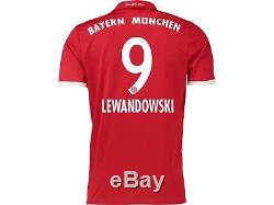 RFCB54jp9 Bayern Munich brand new official Adidas jersey Lewandowski junior tee