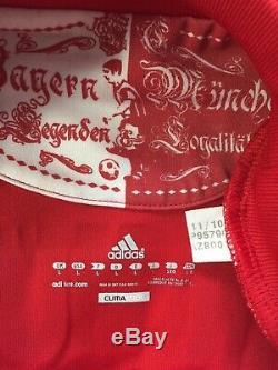 RIBERY #7 Bayern Munich Home Football Shirt Jersey 2010/11 (L)