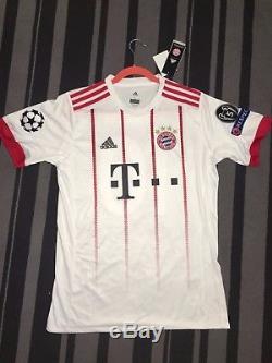 e3875c427967 Robben 10 Bayern Munich Adidas Third Jersey 2017 2018 Size L Uefa ...