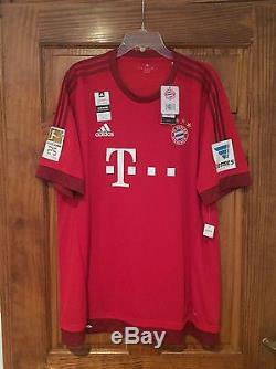 ROBBEN Bayern Munich Match Player Issue Adizero BNWT Adidas