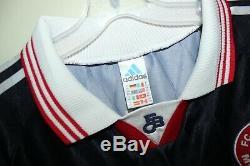 Rare BAYERN MUNICH 1997-99 home shirt Adidas XXL 2XL trikot football jersey Opel