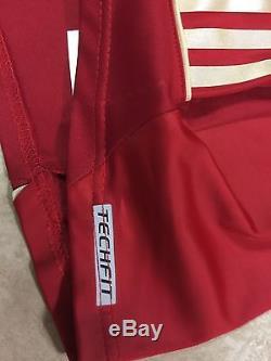 Rare Germany FC bayern Munich Trikot player issue Techfit Sz 9 authentic shirt