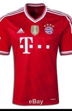Rare Germany FC bayern Munich Vs Real Madrid Shirt Pizarro Peru Trikot jersey