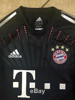 Rare Germany bayern Munich Player Issue Match Unworn Techfit Uefa Jersey shirt