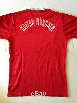 Rare Maillot Munich Jersey Adidas Bayern Munchen Iveco Magirus 1980