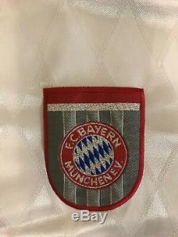 Rare Vintage Adidas Bayern Munchen Munich Carsten Jancker Futbol Soccer Jersey
