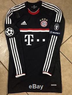 5972856ee84 Raregermany Bayern Munich Player Issue Techfit Uefa Trikot Jersey Football  Shirt