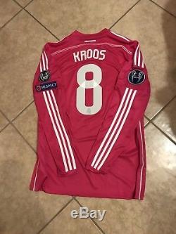 3389fc460b5 Real Madrid Player Issue Adizero Kroos Jersey Bayern Munich Match Unworn  Shirt