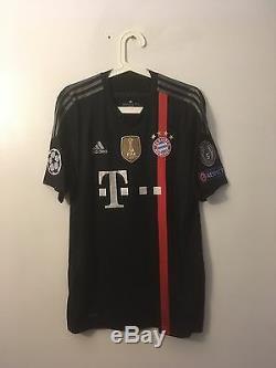 Ribery, 14-15 Bayern Munich Third Ucl Adizero Match Un Worn Shirt