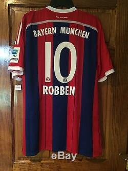 Robben Bayern Munich Holland Netherlands Adizero Player Issue Jersey Match