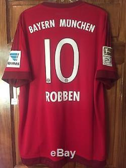 Robben Bayern Munich Holland Netherlands Player Issue Match Un Worn Adizero