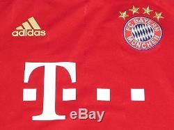 Robben Bayern Munich Jersey Player Issue Match Un Worn Spielertrikot TechFit