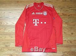 official photos 185fe f677f Robben Bayern Munich Jersey Player Issue Match Un Worn ...