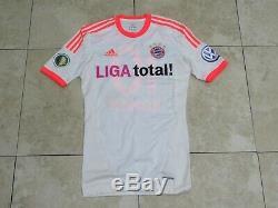 Robben FCB Bayern Munich Shirt Techfit Jersey Player Issue Match Un Worn DFB Cup