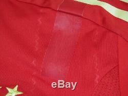 Robben FCB Bayern Munich TechFit Jersey Player Issue Match Un Worn Pokalfinale