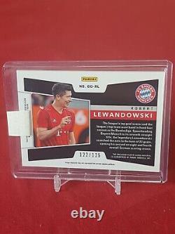 Robert Lewandowski Bayern Munich 2019/20 Obsidian Match Worn Jersey Card 1/125