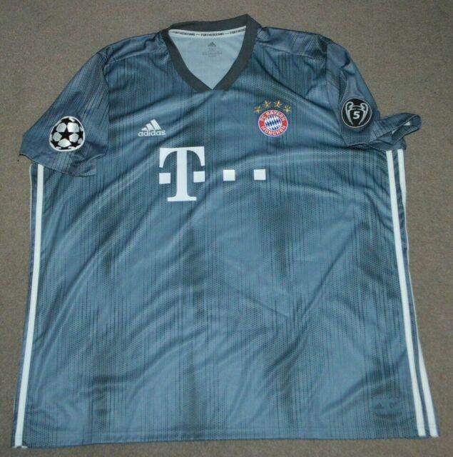 Robert Lewandowski Bayern Munich Adidas Parley Soccer Football Jersey 3xl
