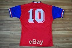 SIZE M BAYERN MUNICH FOOTBALL SHIRT HOME 1993-1995 JERSEY #10 Lothar Matthaus