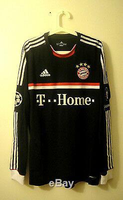 Schweinsteiger, 11-12 Bayern Munich Away #31 Player Issue No Match Worn Shirt