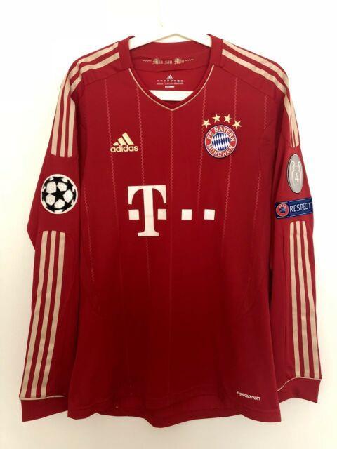 Schweinsteiger, 2012-13 Bayern Munich Home Champions League Match Un Worn Shirt