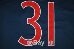 Schweinsteiger Bayern Munchen 2013/2014 Third Football Shirt Jersey Trikot Large