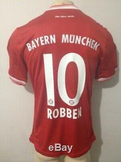 Shirt / Jersey Bayern Munich 2012-2013-2014 Arjen Robben 10 Champions League