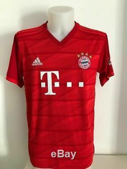 Shirt signed autographs 7 Ribèry Bayern Munchen home soccer jersey COA
