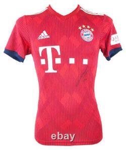 Signed Lucas Hernandez Jersey FC Bayern Munich Shirt +COA