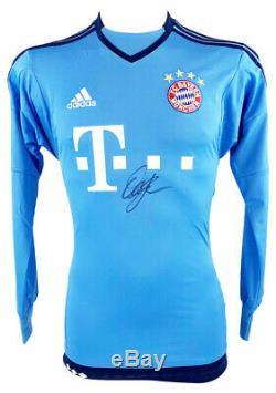 Signed Oliver Khan Jersey FC Bayern Munich GK Shirt +COA